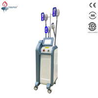 Factory Price 4 Handles Fat Freeze Criolipolisis Vacuum Machine Cryotherapy Weight Loss TM-928