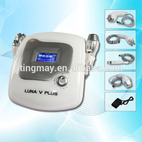 Interchange bipolar rf /multipolar radio frequency portable ultrasonic slimming cavitation