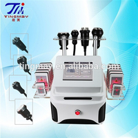 RF cavitation vaccum massage roller slim machine