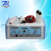 2017 repair facial skin machine ( high frequency +Vacuum +spray+Ultrasonic)