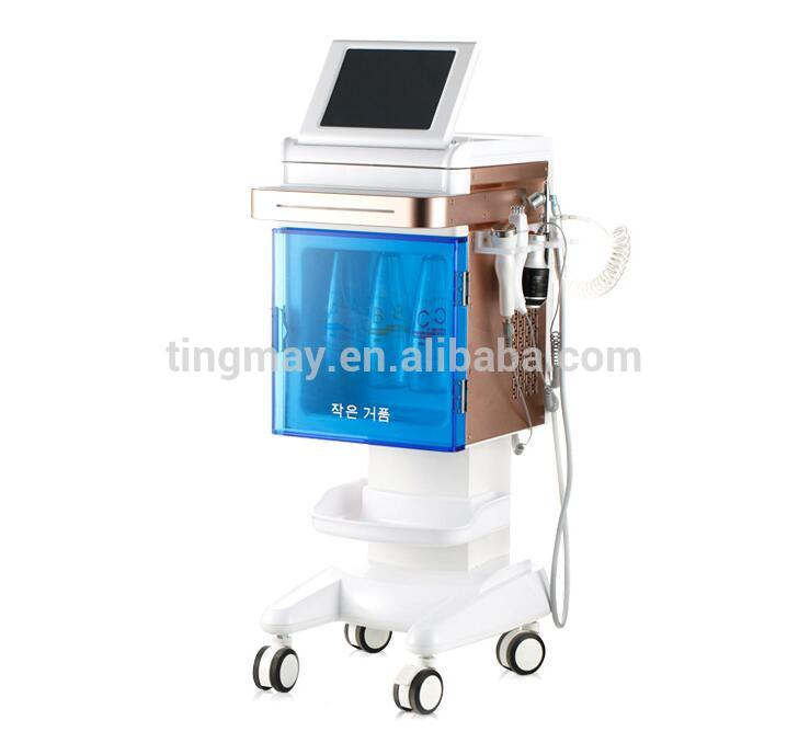 5 in 1 ultrasonic rf face lift hydro water dermabrasion water aqua dermabrasion peeling machine