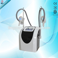 Portable double cryo handles vaccumm cryolipolysis Machine