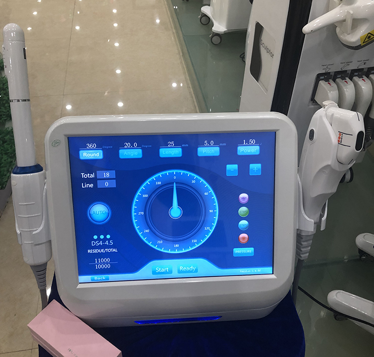 2019 high intensity focused ultrasound machine for face lift wrinkle removal vaginal tightening