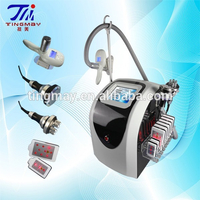 4in1 Laser Lipolysis + 40K cavitation + Body RF + Cryolipolysis Freeze Fat Machine Beauty Slimming Instruments