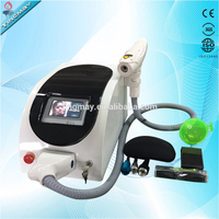 1064nm/532nm tattoo removal yag laser machine (q switch nd yag laser)