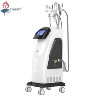 5 in 1 cryolipolysis cavitation lipolaser rf fat freeze double cryo hand effective slimming machine