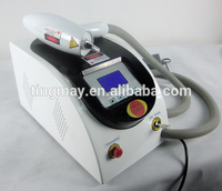 Tattoo & hair removal q switched nd yag machine laser