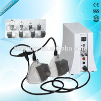Wholesale vibration and photon therapy nipple cups vacuum breast enlargement machine
