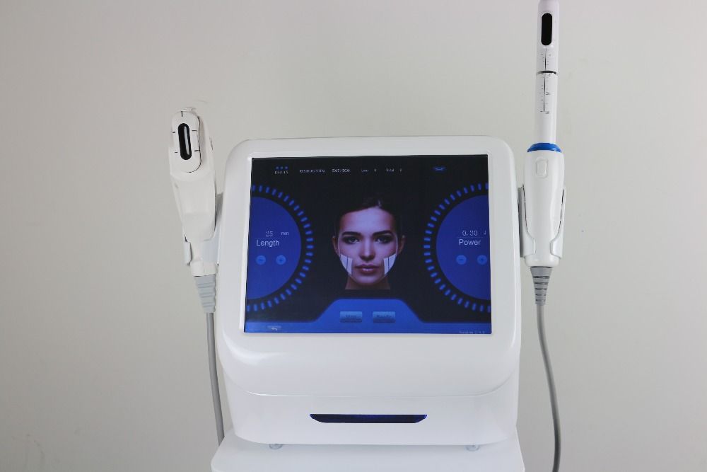 2 in 1 Facial HIFU Face Lift Machine / Vaginal HIFU for Vagina Tightening
