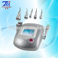 40khz cavitation+bipolar radio frequency+tripolar rf weight loss machine for sale