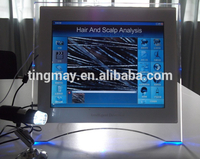 Portable screen touch Hair Analysis Machine