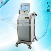 OPT LASER 2 in 1 OPT hair removal machine/nd yag laser tattoo removal machine