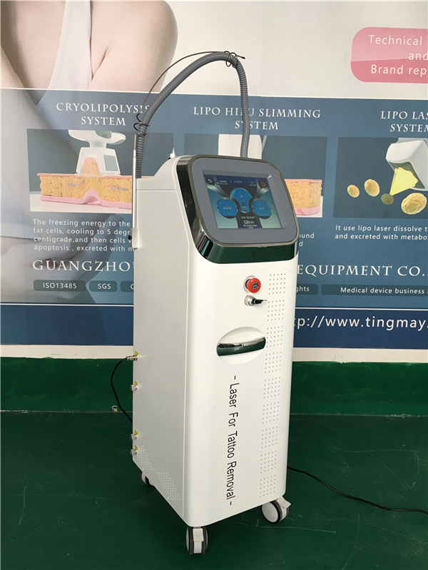 Q switch nd yag picosecond laser tattoo removal machine factory price