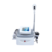 beauty salon 4 functions vacuum cryolipolysis fat freeze slimming machine