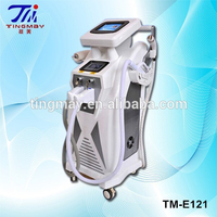 Multifunction e-light ipl rf+nd yag laser machine TM-E121