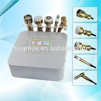 Portable electro osmosis no needle mesotherapy face machine
