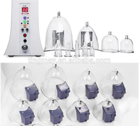 clinic use butt enlargement massage/electric vacuum cupping therapy/butt lift machine
