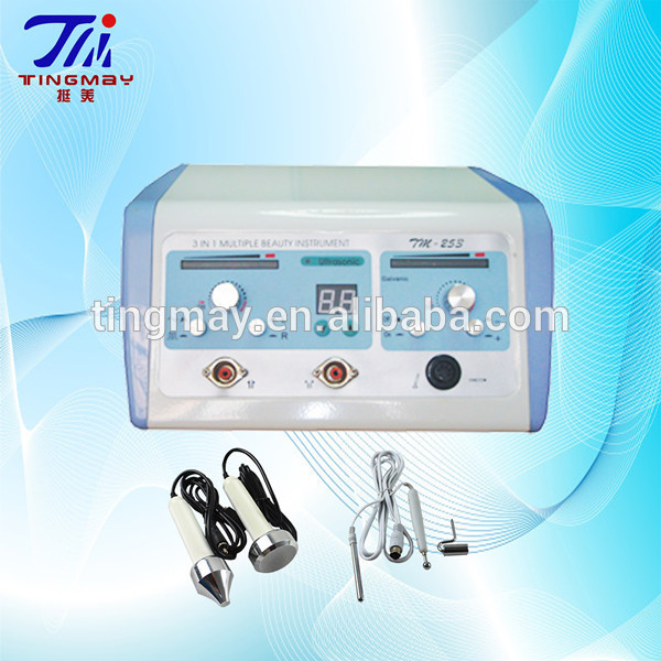 galvanic and ultrasonic facial massage machine