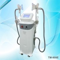double cryo handle working same time cavitation rf cryolipolysis slimming machine