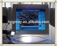 Skin testing equipment hair analysis machine