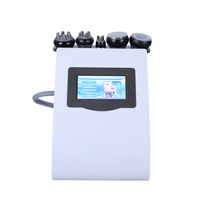5 in 1 Vacuum Rf Ultrasound 40k Cavitation fat removal machine