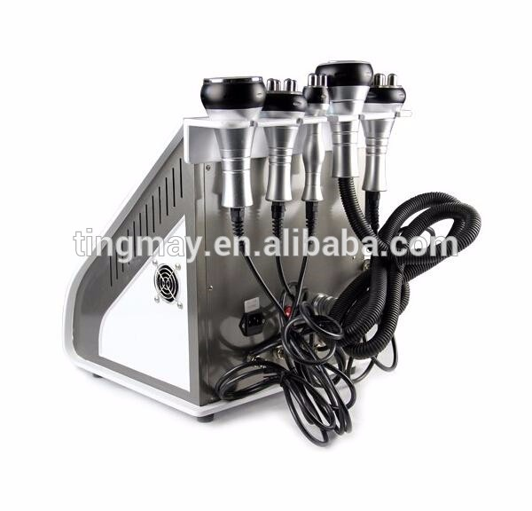 China manufacture 5 in 1 ultrasound cavitation rf vacuum machine