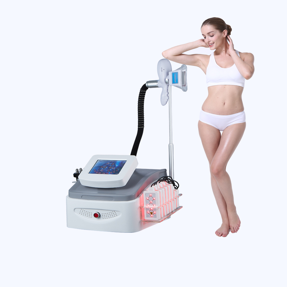 Portable Ultrasound Cavitation RF Cryolipolysis Vacuum lipo laser Machine
