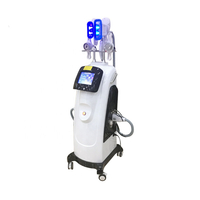 Two Cryo Handles Work Simultaneously Double Chin Fat Freeze Cryolipolysis Machine With Cavitation RF LipoLaser