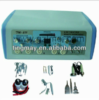 6 in 1 ultrasonic portable galvanic facial equipment tm-271