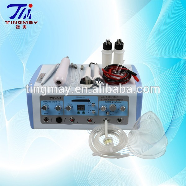 Ultrasonic skin massager electrotherapy multifunctional Facial Machine