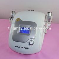 cavitation tripolar multipolar bipolar rf Luna v plus rf radio frequency facial machine