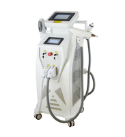IPL Laser hair removal /e-light ipl rf+nd yag laser multifunction machine