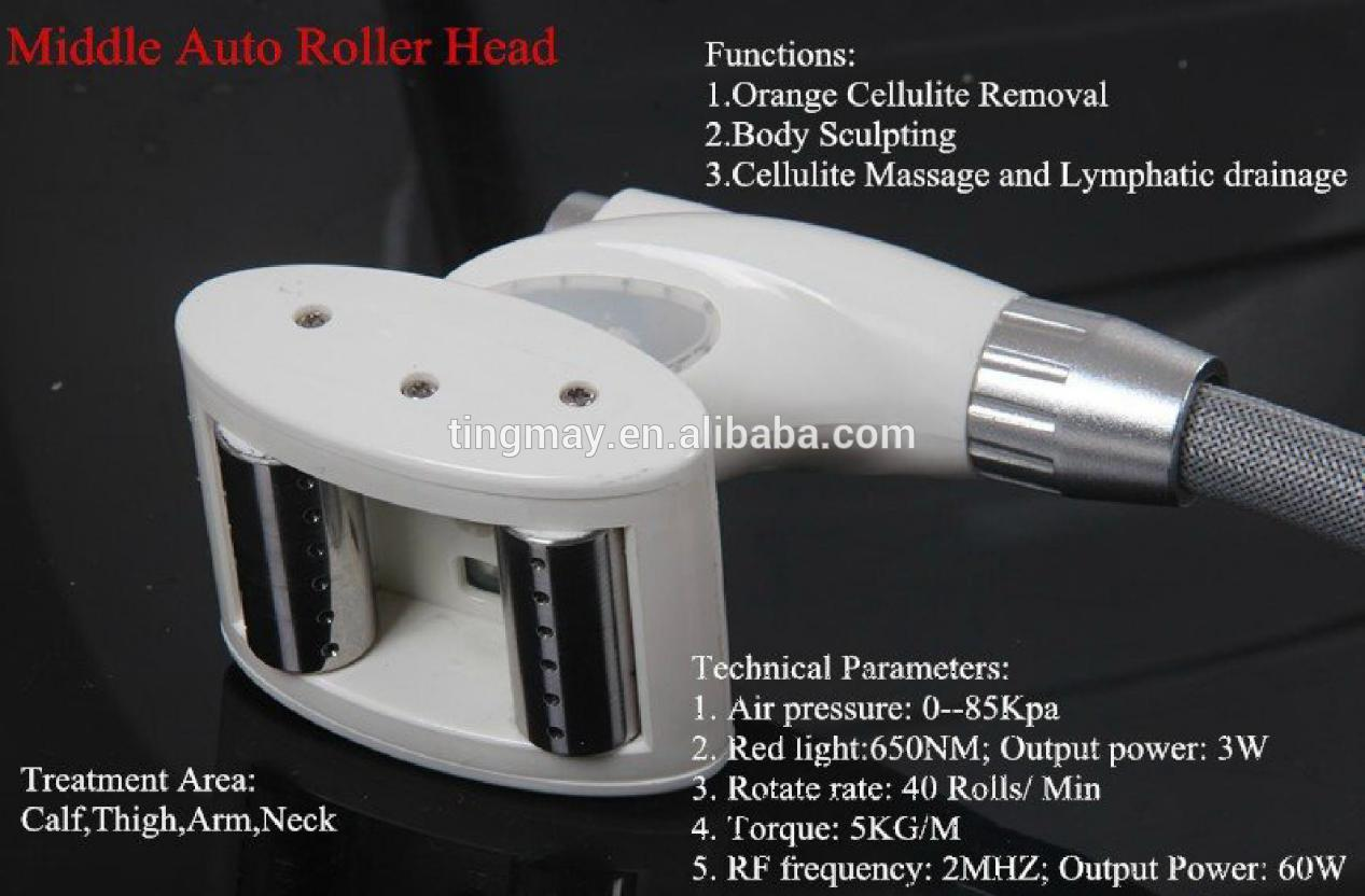 Portable Velashape Vacuum Cavitation RF Slimming Machine /Vacuum Roller Body Massage Fat Removal Beauty Machine