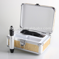 Automatic Skin Nurse System Derma Stamp Electric Pen With 12 Needle Kit for Skin Rejuvenation Wrinkle Removal