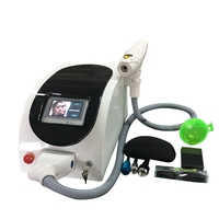Q switched ND YAG Laser tattoo and pigment removal Machine