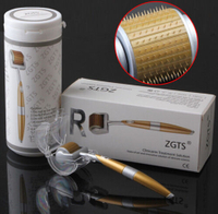 Micro needle derma roller with 192 Titanium needles for facial care