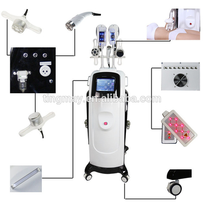 5 in 1 RF+Lipo laser+cavitation cryolipolysis fat freeze cold body sculpting machine