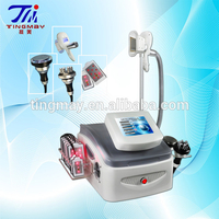 Destroy Fat Cells!!!Cavitation+RF+Laser+ vacuum cryo slimming device for beauty salon