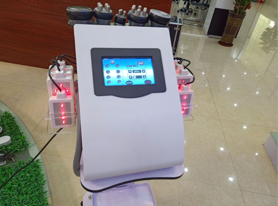 Portable vacuum cavitation lipo laser weight loss rf skin rejuvenation machine TM-660D