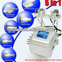 hot sale 5in1 ultrasonic cavitation machine tm-v8