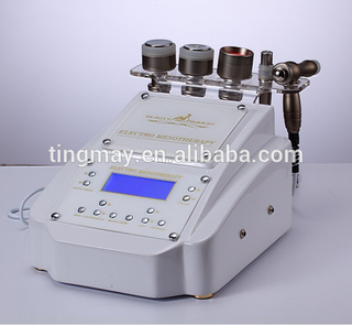 Electroporation facial mesotherapy face shaping device