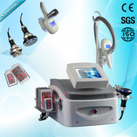 4 in 1 RF cryo vacuum liposuction fat freezing machine cryolipolysis machine