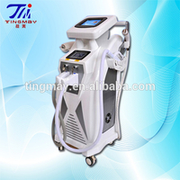 New style Best-Selling skin tightening korea shr +ipl+rf nd yag laser beauty machine with skin rejuvenation