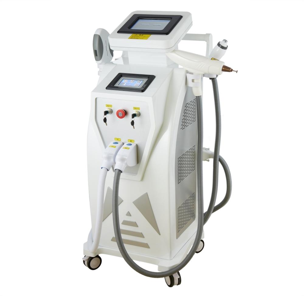 Hair removal ipl rf q switched nd yag laser ipl and laser equipment