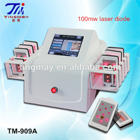 100mw 650nm lipo laser for sale/portable lipolaser slimming machine price lipolaser