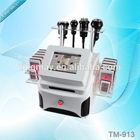 Vacuum body massager machine with lipolaser cavitation rf tm-913