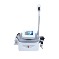 Portable cryolipolysis rf skin tightening machine with CAVITATION lipo laser