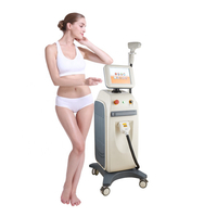 Beauty salon equipment 808 diode laser hair removal machine