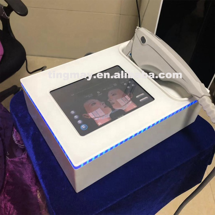 Popular item mini hifu machine for face lift and wrinkle removal