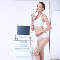 Hot selling HIFU three cartridges face lift wrinkle removal high intensity focused ultrasound equipment 1.5mm/3.0mm/4.5mm